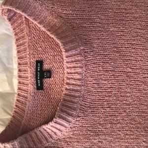 Sweaters - Super comfy oversized slouchy mauve sweater 👵🏻